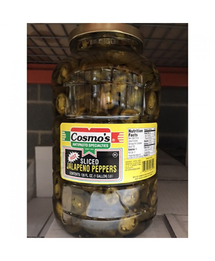 (COSMO'S) JALAPENO PEPPER SLICED