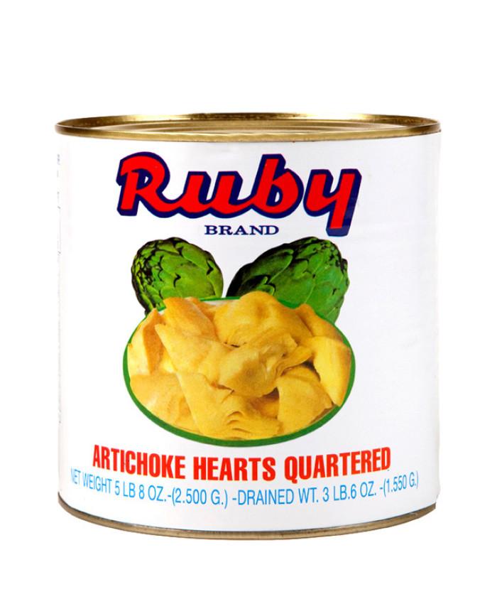 (RUBY) ARTICHOKE HEARTS